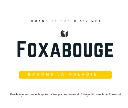 Foxabouge, entreprise des 3èmes du collège Saint Joseph